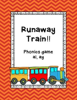 Phonics game vowels teams ai, ay