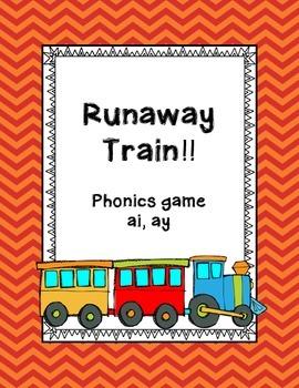 Phonics game vowels teams ai, ay