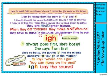 PHONICS 'igh' put the letters in the right order with this simple trick!