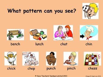 Phonics presentations - a series of slides for introducing graphemes
