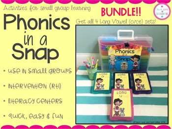 Phonics in a Snap! Long Vowel (cvce) BUNDLE