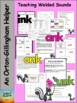 Phonics -ink, ank, onk, unk