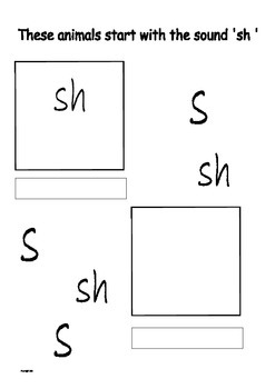 Phonics letter sounds cut and stick book higher
