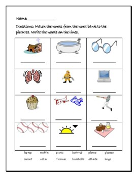 Phonics level 1 unit 14- Review of word structure *updated*