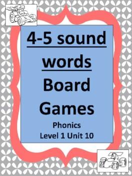 Phonics level 1 unit 10 Board Games