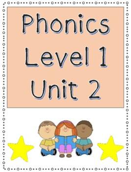 Phonics level 1 unit 2 - CVC words, trick words