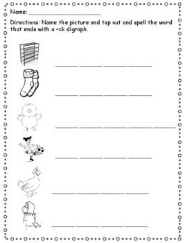 Phonics level 1 unit 3 - digraphs, trick words