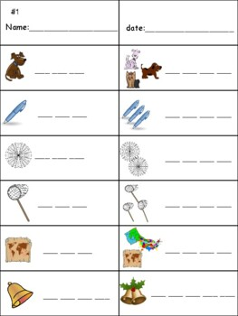 Phonics level 1 unit 6: suffix -s and trick words