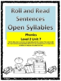 Phonics level 2 Unit 7: Roll and Read Sentences