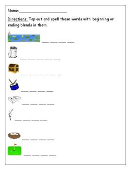 Phonics level 2 unit 1: digraphs, blends,  /k/ sound, trick words *updated*
