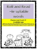 Phonics level 2 unit 17: Roll and Read words and phrases -le syllable