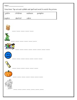 Phonics level 2 unit 5: 2 syllable words, suffixes, prefixes *updated*