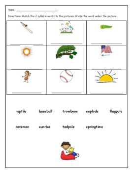 Phonics level 2 unit 6: v-e syllables, trick words *updated*