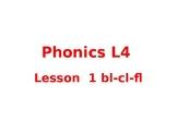 Phonics level 4 bl,cl,fl