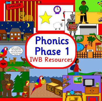 Phonics phase 1 IWB resources- Part 1 - Power points - Letters and Sounds