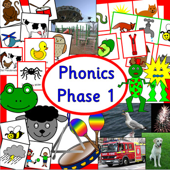 Phonics phase 1 Letters and Sounds - Alphabet, EYFS