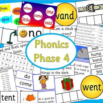 Phonics phase 4 -Letters and Sounds