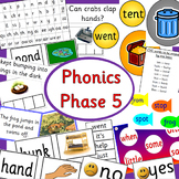 Phonics phase 5 - Letters and Sounds