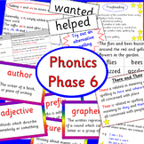 Phonics phase 6 - Letters and Sounds