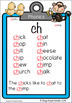 Phonics posters consonant digraphs ch sh th wh