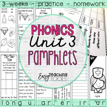Phonics r controlled vowels