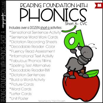 Phonics - short a - Reading Foundation with Phonics