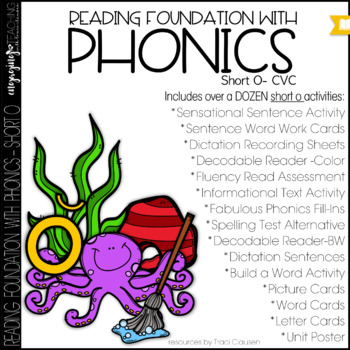 Phonics - short o - Reading Foundation with Phonics