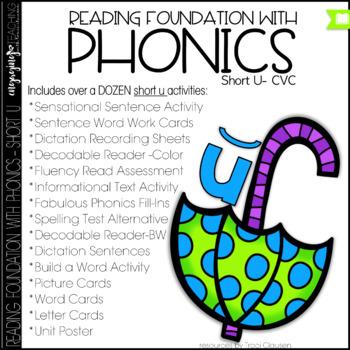Phonics - short u - Reading Foundation with Phonics