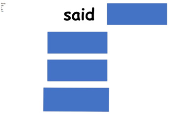 Phonics slides 'ay'