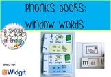 Phonics: window word books - vowel digraphs