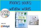 Phonics: window word books - vowel digraphs