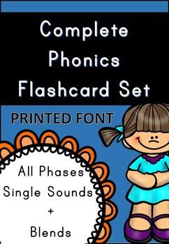 Phonics Mega Flashcard Pack