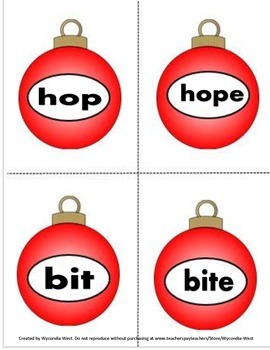 Phonics with Short Vowels and Silent e