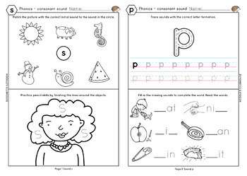 Phonics SATPIN worksheets