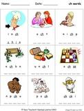 Phonics worksheets - unscramble the letters