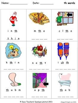 phonics worksheets unscramble the letters