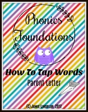 PhonicsFoundations - How To Tap Words- Parent Letter