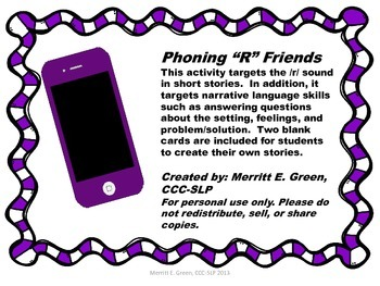 "Phoning ""R"" Friends"