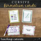 Phonogram Cards : Cursive Handwriting Practice