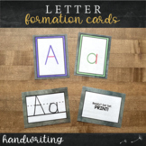 Phonogram Cards : Print Handwriting Practice