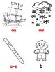 Phonogram Coloring Cards for Students - Orton-Gillingham