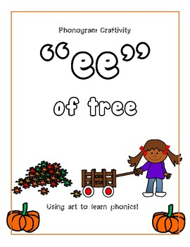 Phonogram Craftivity (ee of tree)