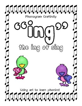 Phonogram Craftivity (ing of sing)