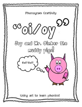 Phonogram Craftivity (oi/oy)