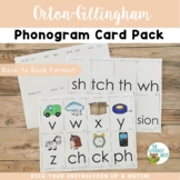 Orton-Gillingham Phonogram Card Pack