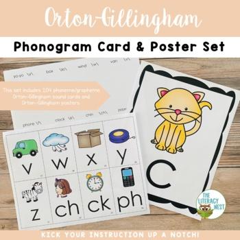 Orton-Gillingham Phonics Card Pack Multisensory Phonics Approach
