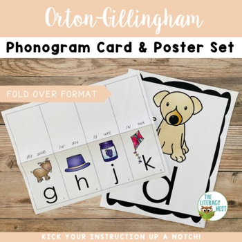 Orton-Gillingham Phonics Card Pack and Posters Multisensory Phonics Approach