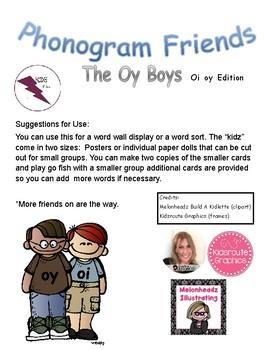 Phonogram Friends The Oy Boys Oi Oy Edition