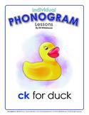 Phonogram Individual Lessons - CK for Duck
