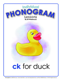 Phonogram Individual Lessons - CK for Duck